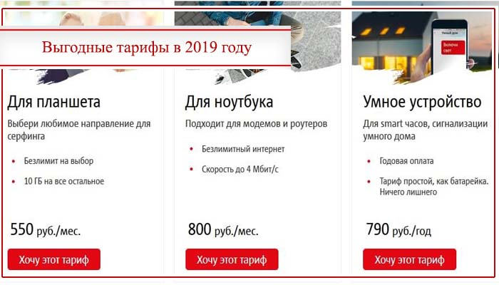 изменение тарифов мтс с 1 января 2020