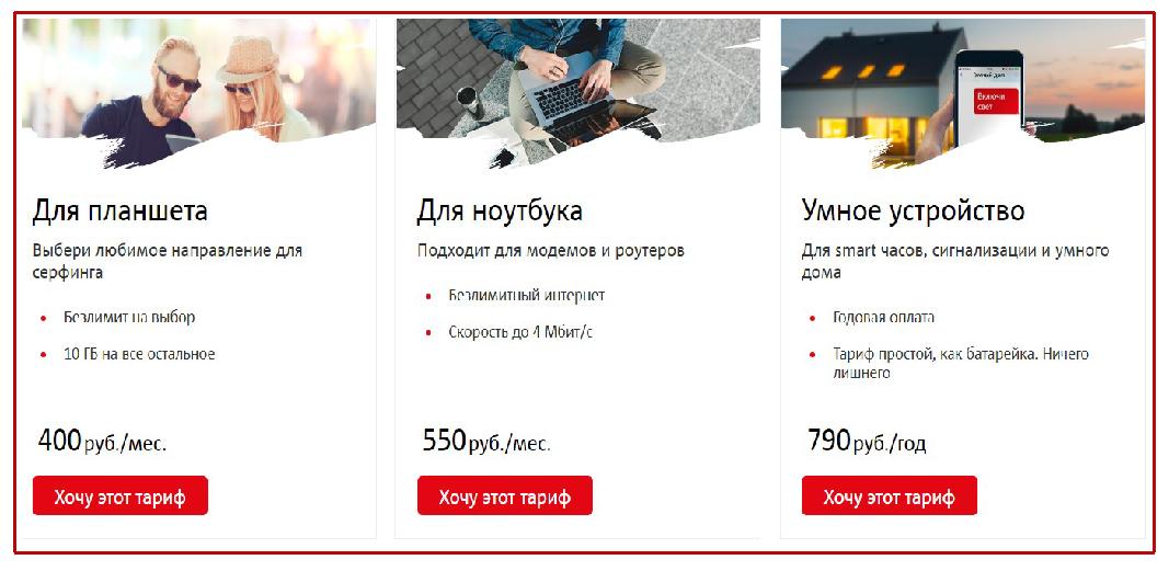интернет-тарифы